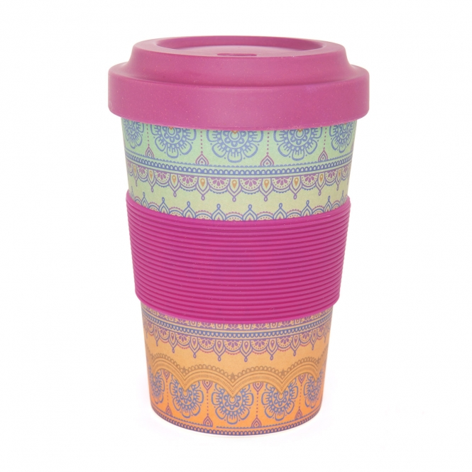 Bamboo cup Bodhi Ornaments 480  ml. - NOVINKA!